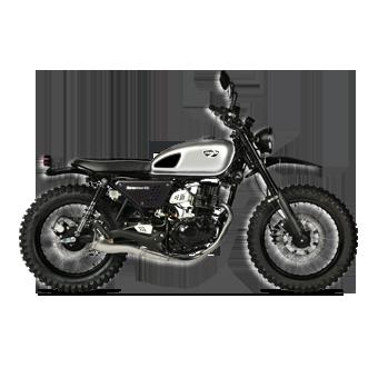 moto scrambler 125 euro 4 masai motos loisirs. Black Bedroom Furniture Sets. Home Design Ideas