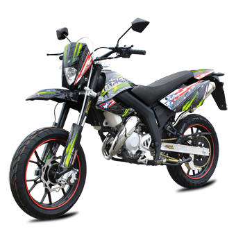 moto super motard 50 ultimate masai motos super motard loisirs. Black Bedroom Furniture Sets. Home Design Ideas