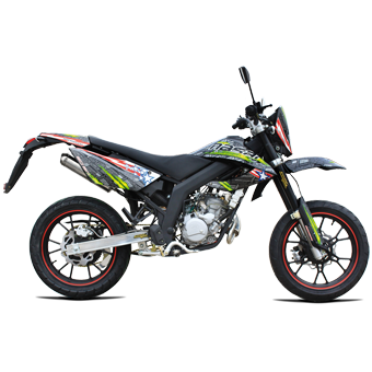 moto super motard 50 ultimate masai motos super motard loisirs. Black Bedroom Furniture Sets. Home Design Ideas